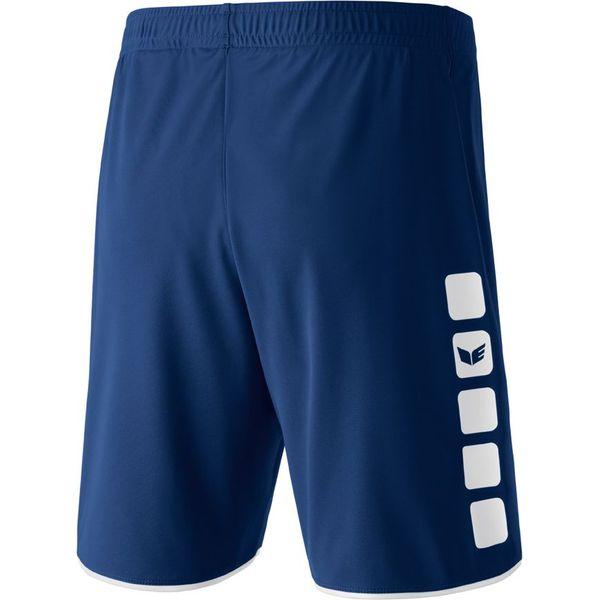Erima 5-Cubes Short Heren - New Navy / Wit