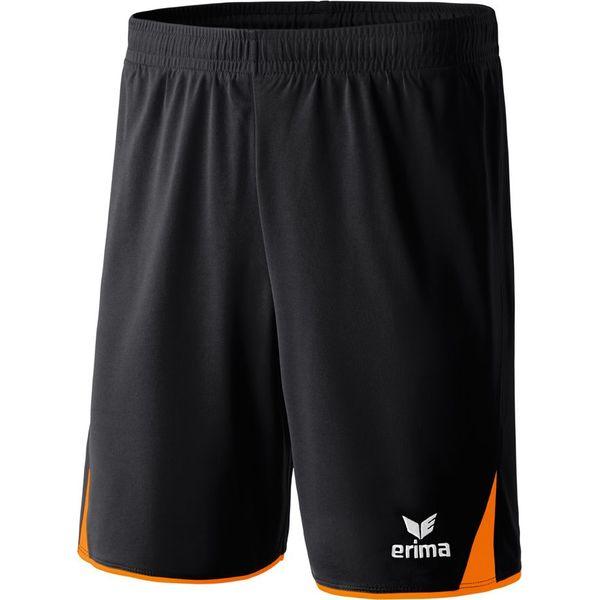 Erima 5-Cubes Short Kinderen - Zwart / Oranje