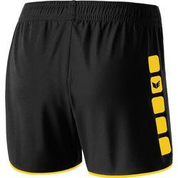 Voorvertoning: Erima 5-Cubes Short Dames - Zwart / Geel