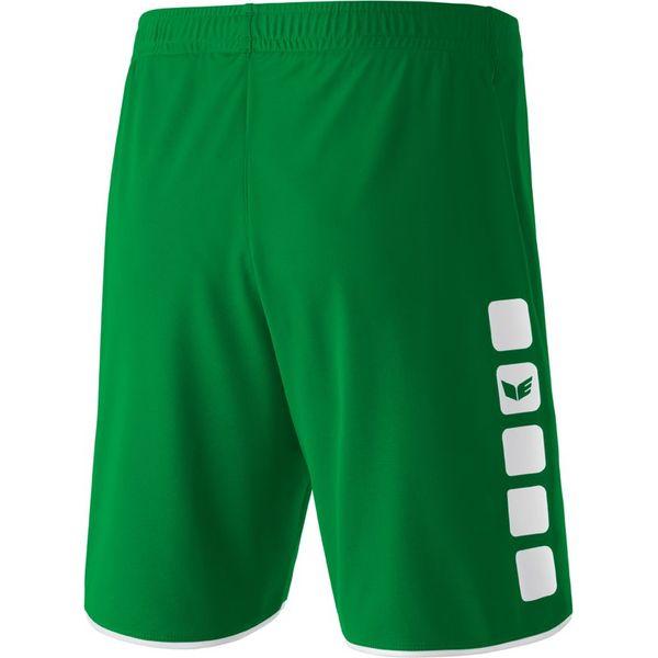 Erima 5-Cubes Short Kinderen - Smaragd / Wit