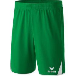 Voorvertoning: Erima 5-Cubes Short Heren - Smaragd / Wit