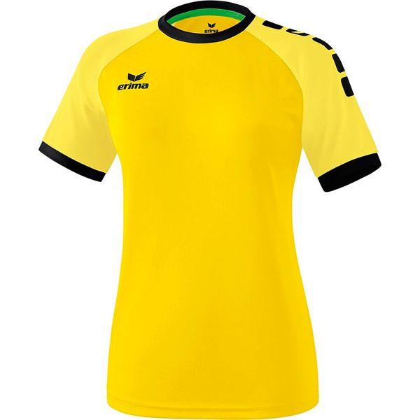 Erima Zenari 3.0 Shirt Korte Mouw Dames - Geel / Buttercup / Zwart