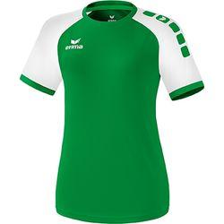 Erima Zenari 3.0 Shirt Korte Mouw Dames - Smaragd / Wit