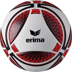 Erima Senzor Match Wedstrijdbal - Wit / Rood / Zwart