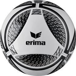 Erima Senzor Pro Wedstrijdbal - Wijnrood / Zwart / Grijs