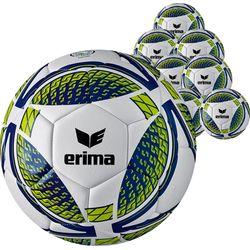 Erima Senzor Training (Maat 5) 50X Ballenpakket - Wit / New Navy / Lime