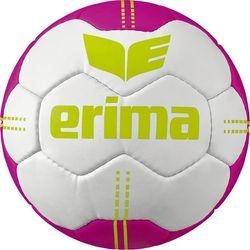 Erima Pure Grip No. 4 Handball - Blanc / Pink / Lime