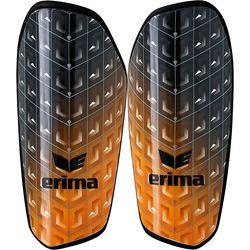Erima Pango Tube Scheenbeschermer - Zwart / Oranje