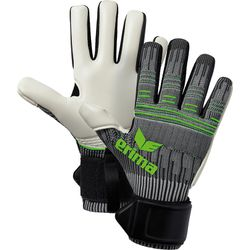 Erima Flexinator Ultra Knit Keepershandschoenen Heren - Grijs / Green Gecko