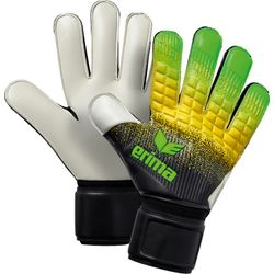 Erima Flexinator New Talent Gants De Gardien Enfants - Green / Noir / Jaune
