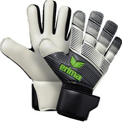 Erima Skinator Hybrid Match Gants De Gardien - Noir / Blanc / Green Gecko