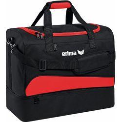 Erima Club 1900 2.0 (L) Sporttas Met Bodemvak - Rood / Zwart