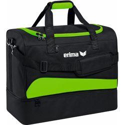 Erima Club 1900 2.0 (L) Sporttas Met Bodemvak - Green Gecko / Zwart