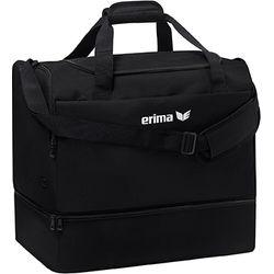 Erima Team (Medium) Sac De Sport Avec Compartiment Inférieur - Noir