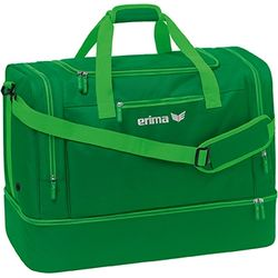 Erima Squad (Large) Sac De Sport Avec Compartiment Inférieur - Emeraude / Fern Green