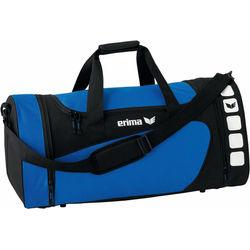 Erima Club 5 (S) Sporttas Met Zijvakken - Royal / Zwart