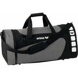 Erima Club 5 (M) Sporttas Met Zijvakken - Graniet / Zwart