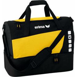 Erima Club 5 (Small) Sporttas Met Bodemvak - Geel / Zwart