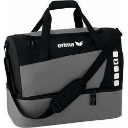 Erima Club 5 (Medium) Sporttas Met Bodemvak - Graniet / Zwart