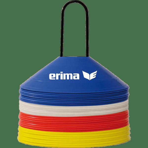 Erima 40X Set Kegels - Rood / Blauw / Geel / Wit