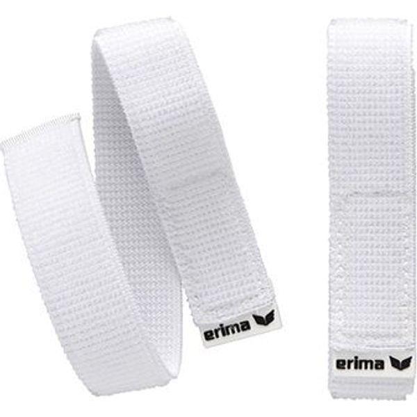 Erima Système De Maintien De Jambières - Blanc