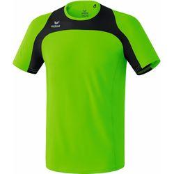 Erima Race Line T-Shirt Running Hommes - Green Gecko / Noir