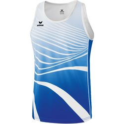 Erima Atletiek Singlet Kinderen - New Royal / Wit