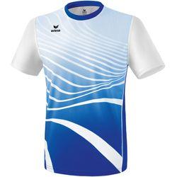 Erima Atletiek T-Shirt Heren - New Royal / Wit