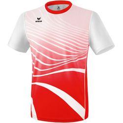 Erima Atletiek T-Shirt Heren - Rood / Wit