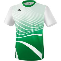 Erima Atletiek T-Shirt Heren - Smaragd / Wit