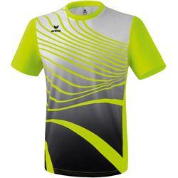 Erima Atletiek T-Shirt Heren - Fluogeel / Zwart