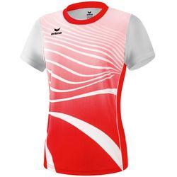 Erima Atletiek T-Shirt Dames - Rood / Wit