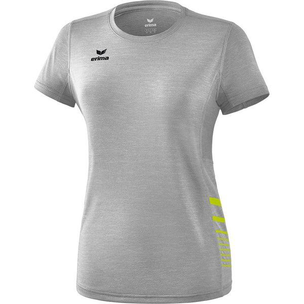 Erima Race Line 2.0 Running T-Shirt Dames - Grey Melange