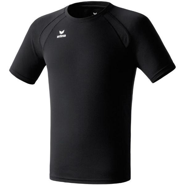 Erima Performance T-Shirt Kinderen - Zwart