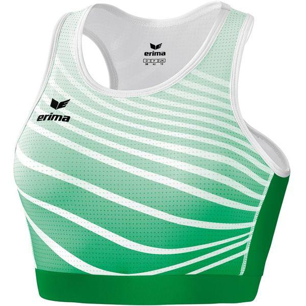 Erima Atletiek Bh Dames - Smaragd / Wit