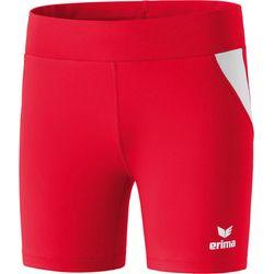 Erima Atletiek Short Tight Dames - Rood / Wit