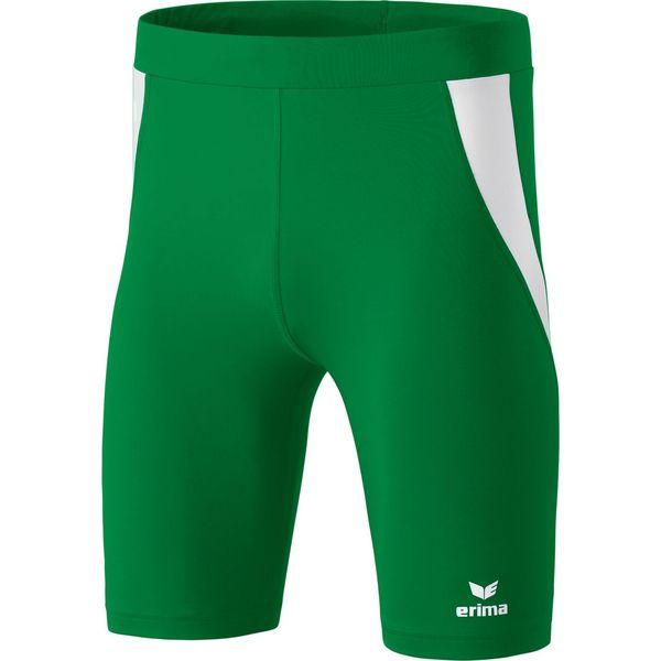 Erima Atletiek Short Tight Heren - Smaragd / Wit