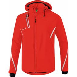 Erima Function Veste Softshell Hommes - Rouge / Blanc