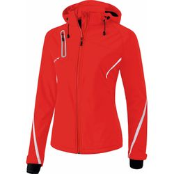 Erima Function Softshell Jack Dames - Rood / Wit