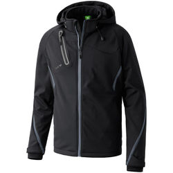 Erima Function Softshell Jack Heren - Zwart / Antraciet