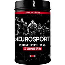 Eurosport Nutrition Isotone Sportdrank Aardbei 600G - Zwart