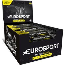 Eurosport Nutrition Oat Bar Banaan 20 Stuks - Zwart