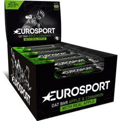 Eurosport Nutrition Oat Bar Appel En Kaneel 20 Stuks - Zwart