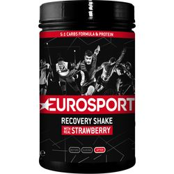 Eurosport Nutrition Recovery Shake Fraise 450 G - Noir