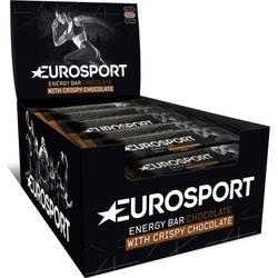 Eurosport Nutrition Energy Bar Chocolade 20 Stuks - Zwart
