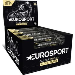 Eurosport Nutrition Oat Bar Vanille 20 Stuks - Zwart
