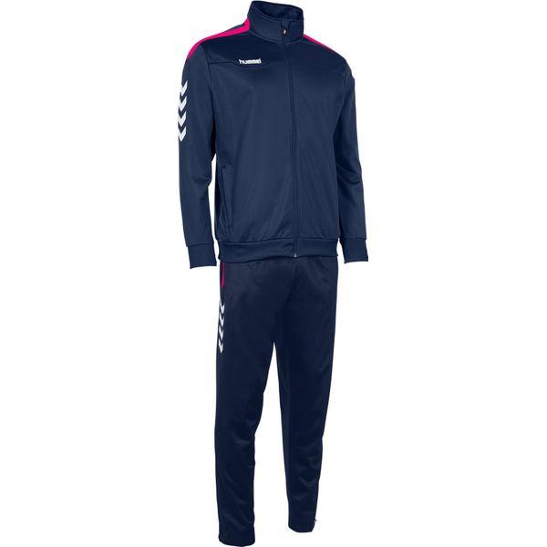 Hummel Valencia Trainingspak Polyester - Marine / Magenta