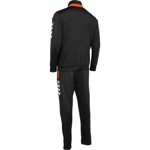 Hummel Valencia Trainingspak Polyester Kinderen - Zwart / Oranje