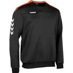 Hummel Valencia Top Round Neck Heren - Zwart / Oranje