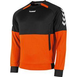 Hummel Authentic Top Round Neck Heren - Oranje / Zwart